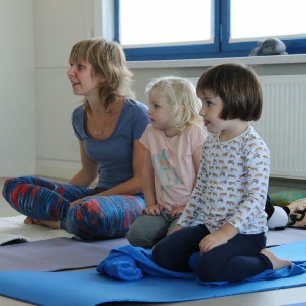 Yoga De Lotus Gezin